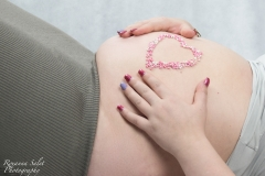 Zwangerschap fotoshoot studio